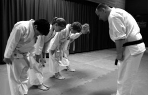 Ju-Jitsu bow