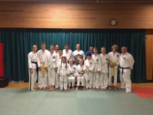 Wilmslow Bushido Team 2014 Bushido International Championships