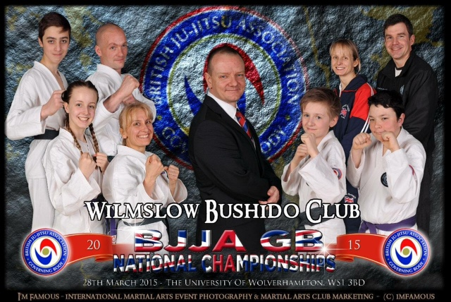 Bushido Team 2015 at British National Championships